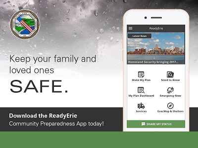 ReadyErie app graphic