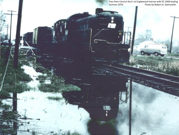 Penn Central Alco at Englewood
