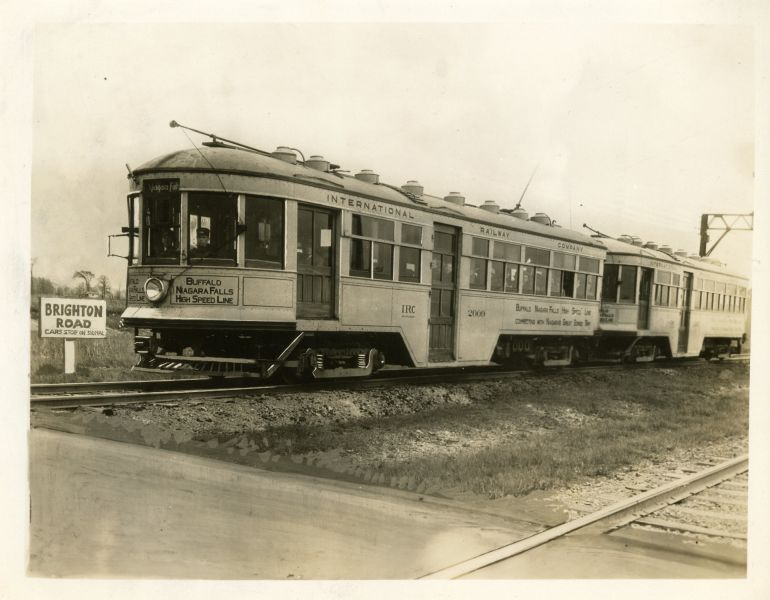 Vintage Train Photo Tonawanda Rails to Trails